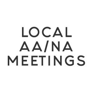 Local AA/NA Meetings